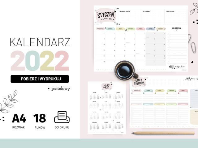 Kalendarz 2022 do druku