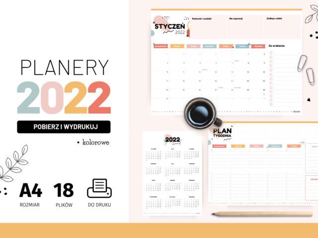 Planery 2022 do druku – Kolorowe